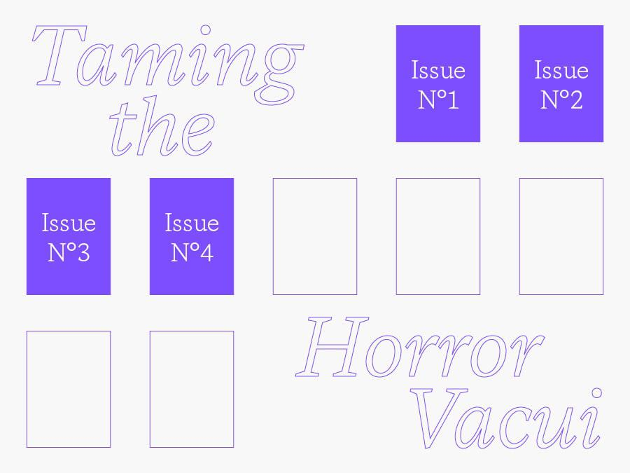 Taming Horror publication issue 4