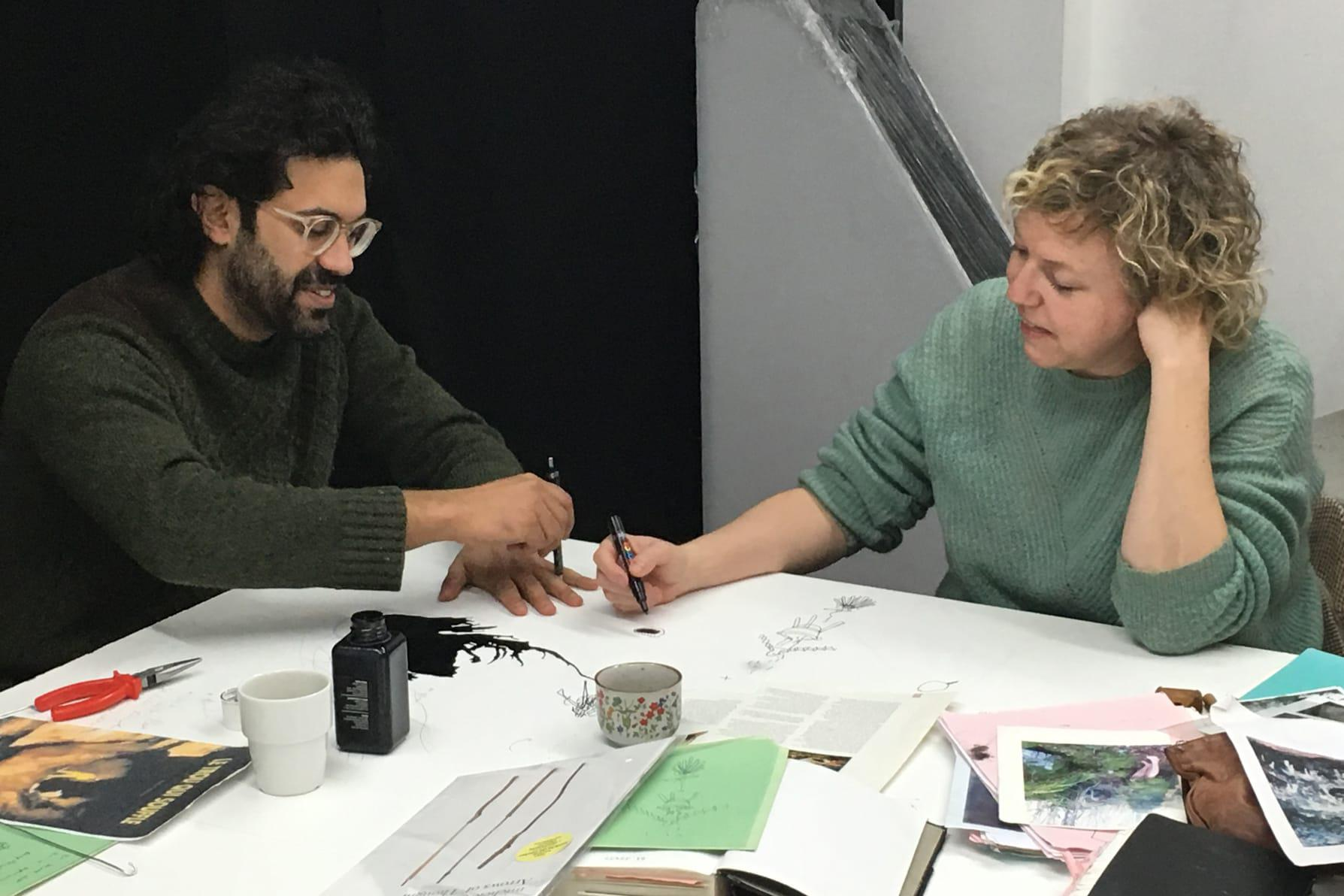 Haseeb Ahmed and Michèle Matyn at Rib. Photo: Piero Bisello